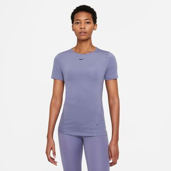 Nike Camiseta m/cNP TOP SS ALL OVER MESH mujer