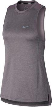 Nike Dry Miler Tank NV2 Mujer Gris