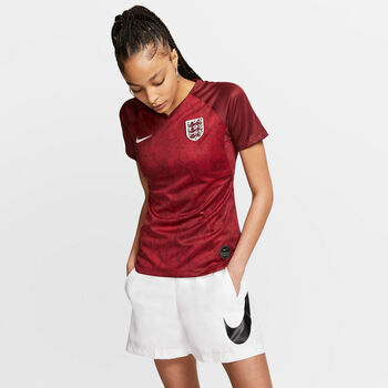 Nike  Dri-FIT Breathe England S mujer Rojo