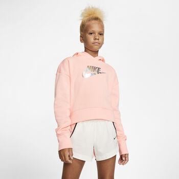 Nike Sudadera G NSW FF CROP niña Rojo