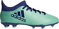 Botas fútbol Adidas X 17.3 FGNiños Verde