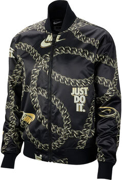 Nike ChaquetaNSW SYN FILL JKT GLM DNK mujer Negro