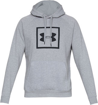 Under Armour RIVAL FLEECE LOGO HOODY hombre Gris
