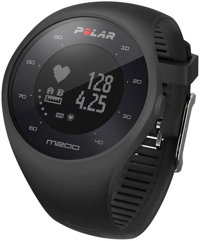 Polar - Polar M200 Blk - Unisex - Wearables - M/L