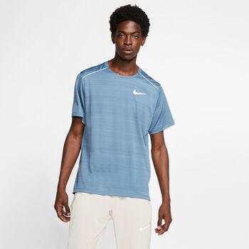 Nike Camiseta m/cNK DRY MILER TOP SS hombre Azul