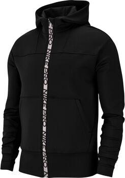 Nike Pro Full-Zip mujer Negro