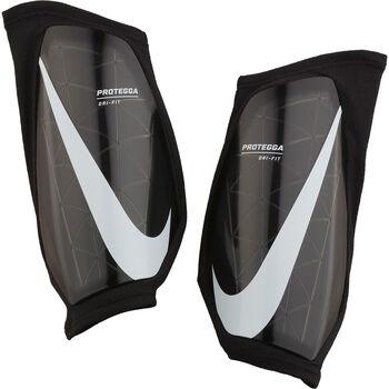 Nike Espinilleras de fútbol Protegga Negro
