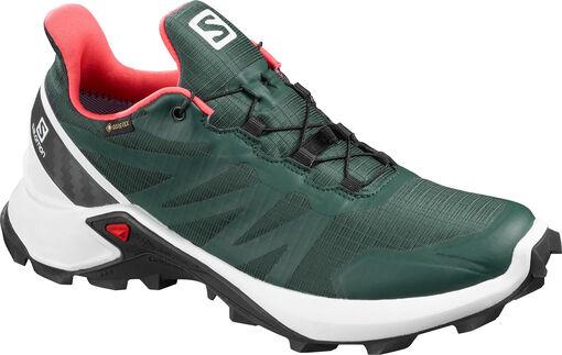 Salomon - Zapatilla Trail Running SUPERCROSS GTX - Mujer - Zapatillas Running - Verde - 38?
