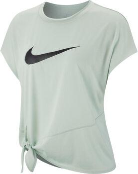 Nike Camiseta m/c W NK DRY SIDE TIE SS TOP GRX mujer