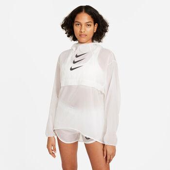Nike Cortavientos Division mujer Blanco