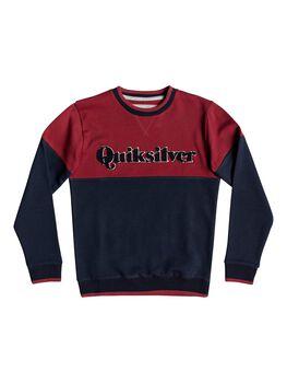 Quiksilver Power Slash - Sudadera para Chicos 8-16 niño