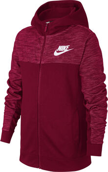 Nike Nsw HOODIE FZ ADVANCE niño Rojo