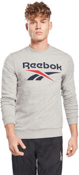 Jersey de cuello redondo Reebok Identity Big Logo hombre