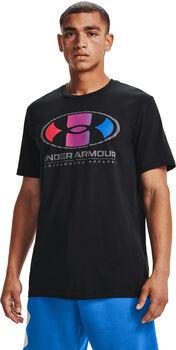 Under Armour Camiseta manga corta Multicolor Lockertag hombre Negro