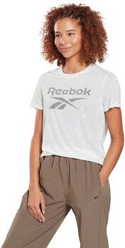 Reebok Camiseta Workout Ready Supremium Big Logo mujer