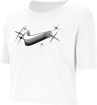Nike Camiseta Manga Corta Logo Crop mujer