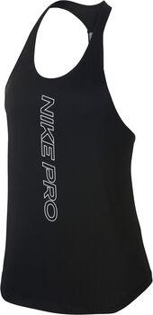 Nike Camiseta sin mangas Pro Dry Elastika mujer Negro