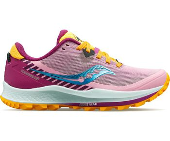 Saucony Zapatillas trail running Peregrine 11 mujer Rosa