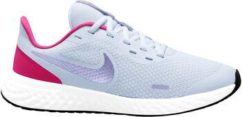 Nike Zapatillas running Revolution 5 Jr Gris