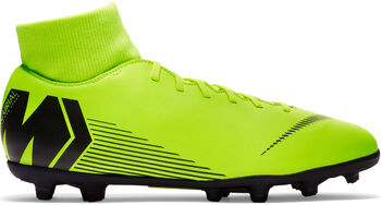 Nike Botas fútbol  Mercurial Superfly 6 CLUB MG hombre Amarillo