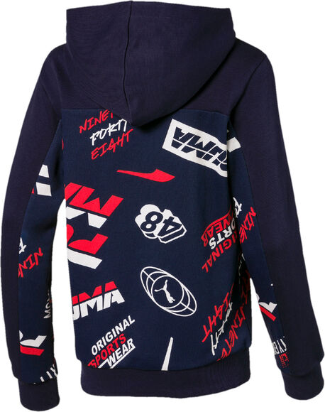 Sudadera estampado Alpha All-Over
