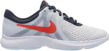 Nike Zapatillas para correr Revolution 4 Big niño Blanco
