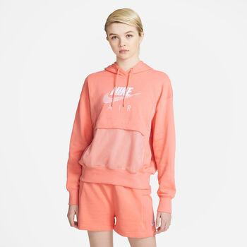 Sudadera con capucha Nike Air mujer Naranja