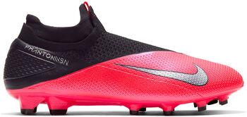 Nike Phantom Vision 2 Dynamic Fit FG hombre Rojo
