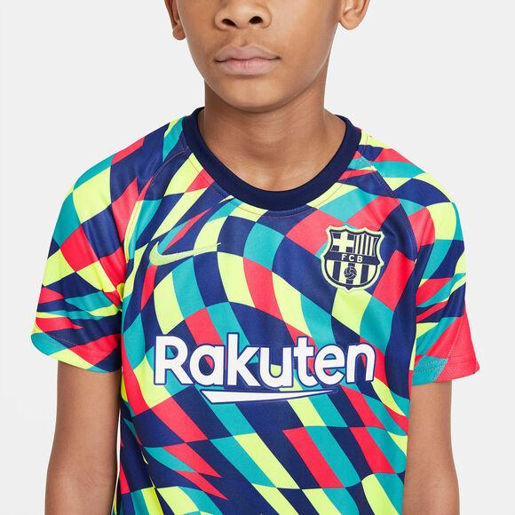 Camiseta de calentamiento F.C. Barcelona Nike Dri-FIT 2020/2021