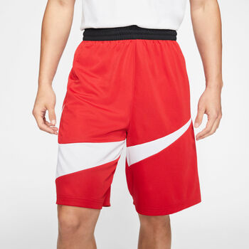 Pantalón corto deporte Nike Dri-FIT HBR 2.0 hombre Rojo