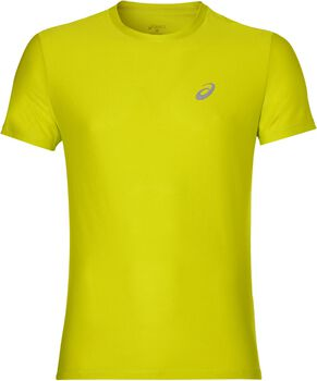 Asics Short-Sleeved Top Hombre Amarillo