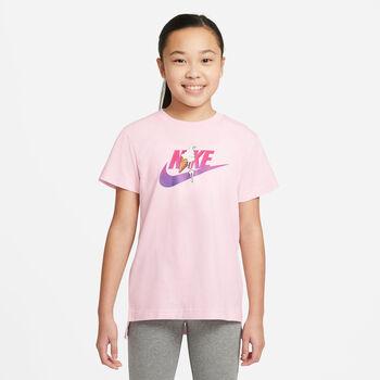 Nike Camiseta manga corta Sportswear Big Kids' niña Rosa