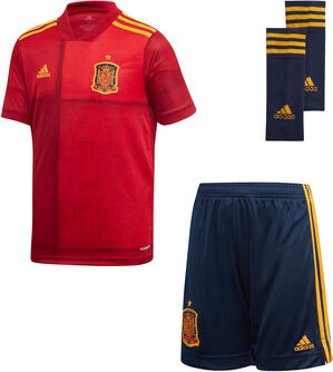 Conjunto primera equipación España Jr