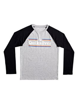 Quiksilver Camiseta m/l GETBUZZYLSYTH B TEES SGRH niño
