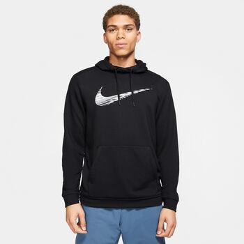 Nike Sudadera Dri-Fit Swoosh hombre Negro
