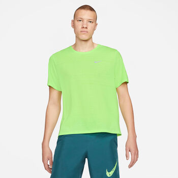 Nike Camiseta Manga Corta Dri-Fit Miler hombre Verde
