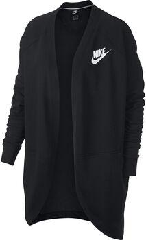 Nike Sportswear rally cardigan rib mujer Negro