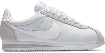 Nike Classic Cortez Nylon Mujer Gris