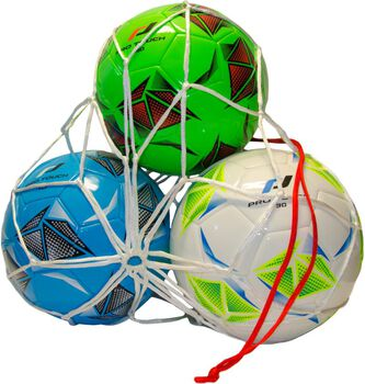Red balones Pro Touch BALL NET 3 BALLS  Blanco