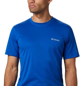 Columbia Camiseta Manga Corta Zero Rules hombre Azul
