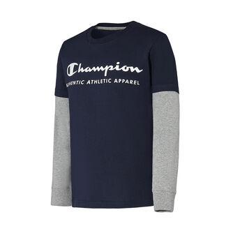 Camiseta m/l Long Sleeve Crewneck T-Shirt