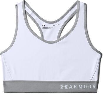 Under Armour Sujetador deportivo de impacto medio Armour® para mujer Blanco