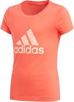 adidas Essentials Performance Logo Tee Niña Naranja
