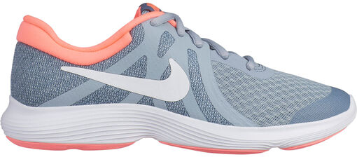 da78b5604b6a4 Nike - Nike Revolution 4 (GS) Niña - Unisex - Zapatillas Running - Gris -  35 1 2