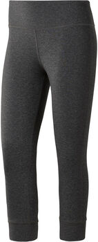Reebok lux 3/4 Tight Mujer Gris