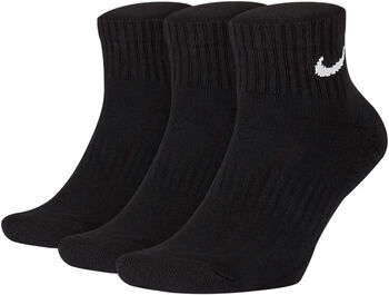 Nike Calcetín Everyday Cushion Ankle Tr Negro