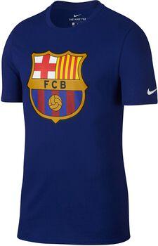Camiseta fútbol FC Barcelona Nike TEE EVERGREEN CREST hombre Azul