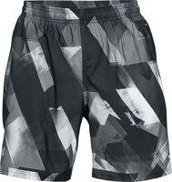 Pantalón corto UA Launch SW estampado de 20 cm para hombre