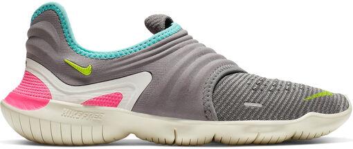 Nike -  Free RN Flyknit 3.0 - Mujer - Zapatillas Running - Gris - 38?