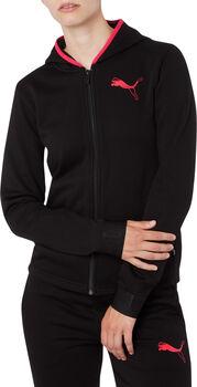 Puma Sudadera  Hooded Zip Jacket mujer Negro